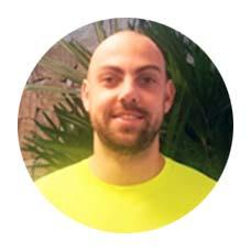 Professor de Musculação Danilo Augusto